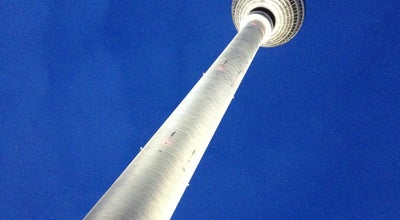 Photo of Monument / Landmark Berliner Fernsehturm at Panoramastr. 1, Berlin 10178, Germany