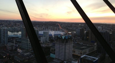 Photo of American Restaurant Top Of Vancouver Revolving at 555 Hastings St E, Vancouver, BC V6B 4N6, Canada