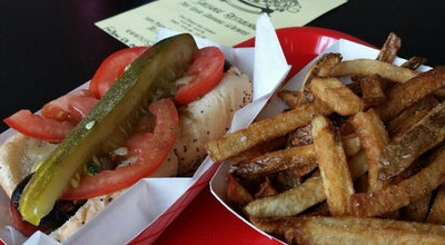 Photo of Restaurant Hot G Dogs at 5009 N Clark St, Chicago, IL 60640, United States