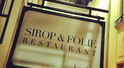 Photo of French Restaurant Sirop Folie at Vicente Lopez 1661, Ciudad de Buenos Aires, Argentina