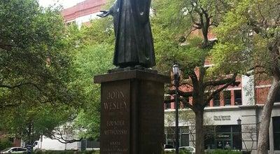 Photo of Park John Wesley Monument at Reynolds Square, Savannah, GA 31401, United States