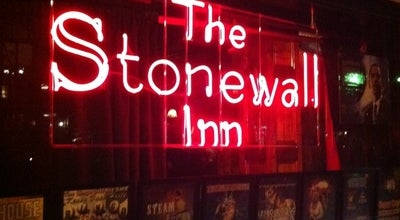 Photo of Nightclub The Stonewall Inn at 53 Christopher St, New York, NY 10014, United States