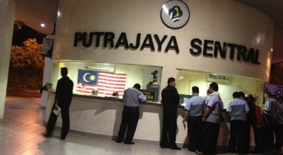 Photo of Train Station Putrajaya Sentral at Exit Jalan P9, Putrajaya 62250, Malaysia