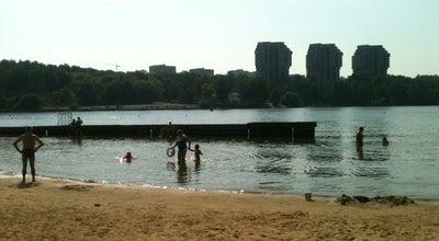 Photo of Beach Пляж «Химки» at Парк Им. Л.н. Толстого, Khimki, Russia