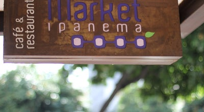 Photo of Brazilian Restaurant Market Ipanema Café e Restaurante at R. Visc. De Pirajá, 452, Rio de Janeiro 22431-002, Brazil