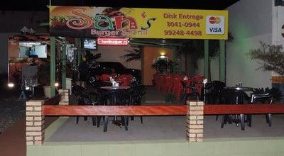 Photo of Burger Joint San's Burger & Grill at Avenida João Pignata, 856, Sertãozinhp, Brazil