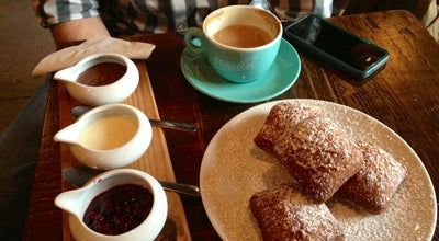 Photo of Cafe Forty Ninth Parallel Cafe & Lucky's Doughnuts at 2902 Main St, Vancouver, BC V5T 3G3, Canada