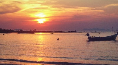 Photo of Beach Khlong Dao Beach at Ko Lanta, Thailand