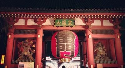 Photo of Monument / Landmark 浅草寺 雷門 (Kaminarimon Gate) at 浅草2-3-1, 台東区 111-0032, Japan