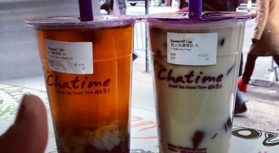 Photo of Cafe Chatime at 22b Bowery, New York, NY 10013, United States