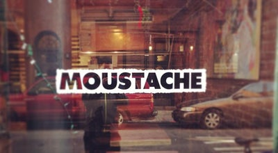 Photo of Mediterranean Restaurant Moustache at 90 Bedford St, New York, NY 10014, United States