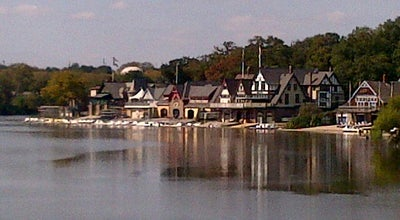 Photo of Monument / Landmark Boathouse Row at Kelly Dr., Philadelphia, PA 19130, United States