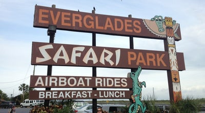 Photo of Other Great Outdoors Everglades Safari Park at 26700 South West 8th Street, Miami, FL 33194, United States