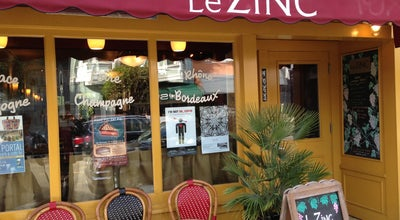 Photo of French Restaurant Le Zinc at 4063 24th St, San Francisco, CA 94114, United States