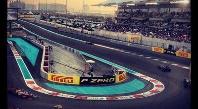 Photo of Tourist Attraction Yas Marina Circuit at Yas Marina Yas Leisure Dr, Abu Dhabi 130001, United Arab Emirates