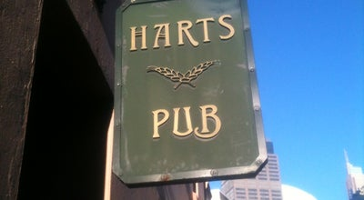 Photo of Bar Harts Pub at Corner Gloucester & Essex Streets, The Rocks, Sydney, Ne 2000, Australia