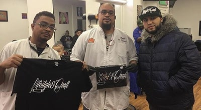 Photo of Other Venue The Hustle Barber Shop at 13411 Hillside Ave, Queens, NY 11418, United States