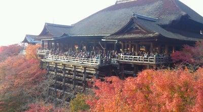 Photo of Buddhist Temple 清水の舞台 (清水寺本堂) at 東山区清水1-294, 京都市 605-0862, Japan