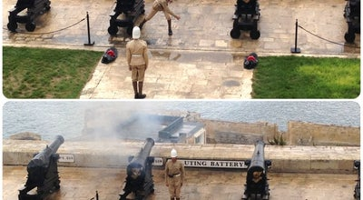 Photo of Museum Saluting Battery at Battery Street, Valletta VLT 1220, Malta