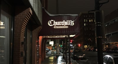Photo of American Restaurant Churchill's Steakhouse at 165 S Post St, Spokane, WA 99201, United States