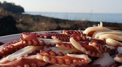 Photo of Seafood Restaurant 애월 해녀의집 at 애월읍 신엄리 989-1, 제주시, South Korea