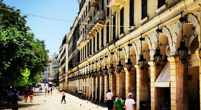 Photo of Plaza Λιστόν (Liston Square) at Πλατεία Ελευθερίας 10, Corfu Town 491 00, Greece