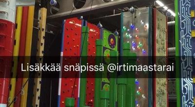Photo of Theme Park Irti Maasta -kiipeilykeskus at Mylly, Raisio, Finland