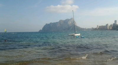 Photo of Beach Cala les Bassetes at Partida Bassetes, Calpe 03710, Spain