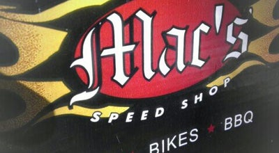 Photo of American Restaurant Mac's Speed Shop at 19601 Liverpool Parkway, Cornelius, NC 28031, United States