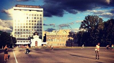 Photo of Plaza Театральная площадь at Московская Ул., Саратов 410012, Russia