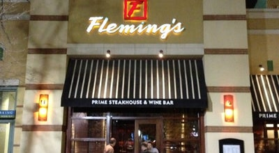 Photo of American Restaurant Fleming's Prime Steakhouse & Wine Bar at 20 South 400 West, Salt Lake City, UT 84101, United States