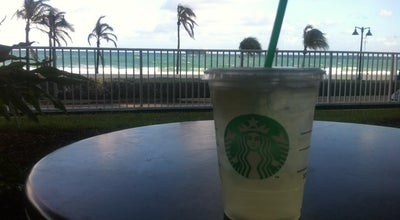 Photo of Coffee Shop Starbucks at 321 N Fort Lauderdale Beach Blvd, Fort Lauderdale, FL 33304, United States