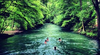 Photo of River Eisbach at Englischer Garten, München 80539, Germany