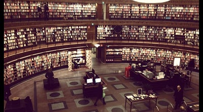 Photo of Library Stadsbiblioteket at Sveavägen 73, Stockholm 113 80, Sweden