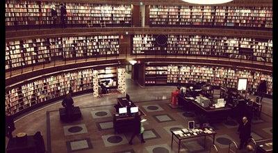 Photo of Library Stadsbiblioteket at Sveavägen 73, Stockholm 113 80, Sweden