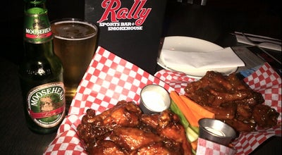 Photo of American Restaurant Rally Sports Bar & Smokehouse at 1660 O'connor Drive, Toronto M4A 2R4, Canada