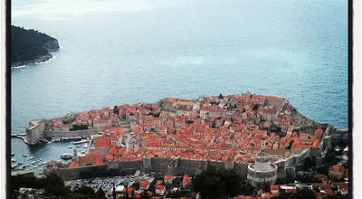 Photo of Scenic Lookout Srđ Mountain at Dubrovnik, Croatia
