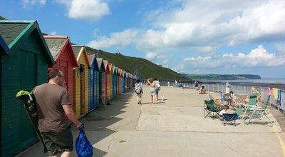Photo of Beach Whitby Beach at West Cliff The Spa, Whitby YO21 3EN, United Kingdom