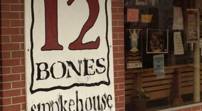 Photo of American Restaurant 12 Bones Smokehouse at 5 Foundy Street, Asheville, NC 28801, United States