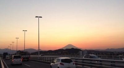 Photo of Bridge 湘南大橋(トラスコ湘南大橋) at 柳島-須賀, 茅ヶ崎市-平塚市, Japan