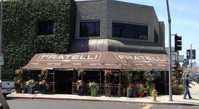 Photo of American Restaurant Fratelli Cafe at 7200 Melrose Ave, Los Angeles, CA 90046, United States