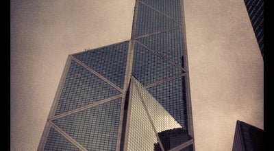 Photo of Bank Bank of China (Hong Kong) at Bank Of China Tower, 1 Garden Rd, Central, Hong Kong