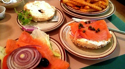 Photo of American Restaurant New York Bagel Cafe and Deli at 9724 Hillcroft St, Houston, TX 77096, United States