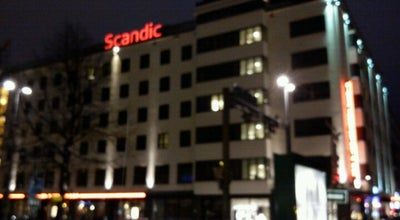 Photo of Hotel Scandic Hotel Tampere City at Hämeenkatu 1, Tampere 33100, Finland