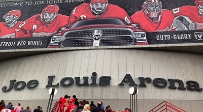 Photo of Tourist Attraction Joe Louis Arena at 600 Civic Center Dr, Detroit, MI 48226, United States