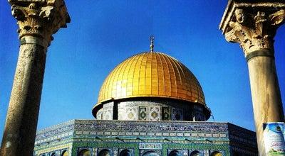 Photo of Historic Site Dome of the Rock at Temple Mount (haram Al-sharif), Jerusalem, Israel