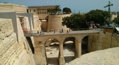 Photo of Historic Site City Gate Valetta at Centro, Valletta, Malta