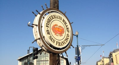 Photo of Historic Site Fisherman's Wharf Inner Harbor Historic Fishing Fleet at Jefferson, San Francisco, CA 94133, United States