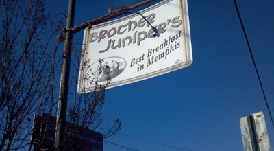 Photo of American Restaurant Brother Juniper's at 3519 Walker Ave, Memphis, TN 38111, United States