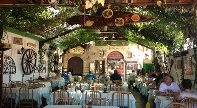 Photo of Mediterranean Restaurant Rustico Taverna at Ippodamou 3-5, Old Town Rhodes, Rhodes Town 851 00, Greece